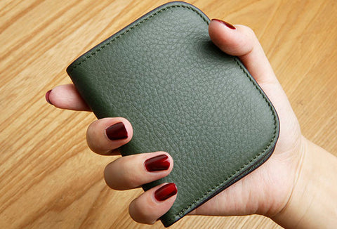 Leather Cute billfold Slim Wallet Change Card Holders Wallets Purse For Women Girl