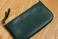 Genuine Leather Short Long Wallet Zipper Slim Wallet Coin Change Card Wallet Purse For Women