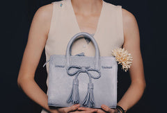 Handmade leather cute handbag purse bag shoulder bag cossbody bag purse women