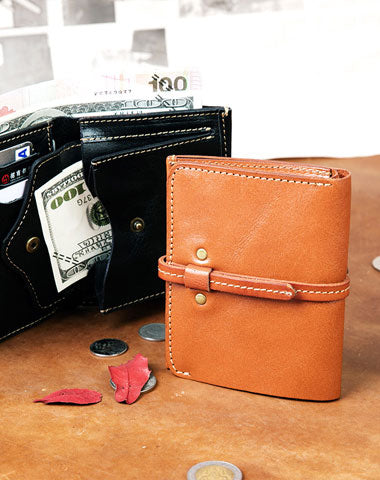 Genuine Leather Wallet billfold Leather Wallet Befold Wallet For Men Women