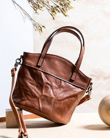 HANDMADE GENUINE LEATHER HANDBAG BAG CROSSBODY BAG SHOULDER BAG PURSE FOR WOMEN
