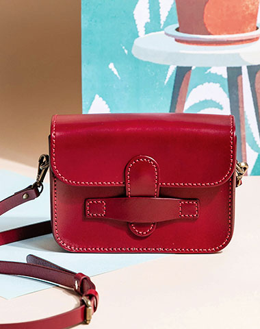 Genuine Leather Handbag Messenger Bag Crossbody Bag Shoulder Bag Purse For Women
