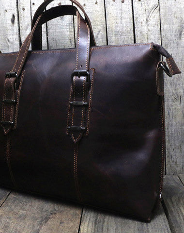 Vintage leather men Briefcase large vintage shoulder laptop Briefcase vintage Briefcase
