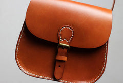 Handmade shoulder bag vintage leather Satchel School crossbody Shoulder Bag for women