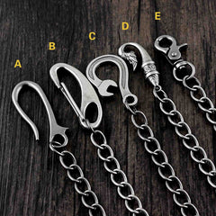 Cool Metal Mens Wallet Chains Pants Chain Jean Chains Biker Wallet Chains For Men