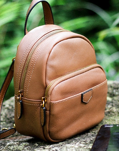 4a960e642bd1 Leather Cute Womens Backpacks School Backpack Purse for Women