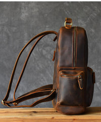 Vintage Brown Leather Mens 15