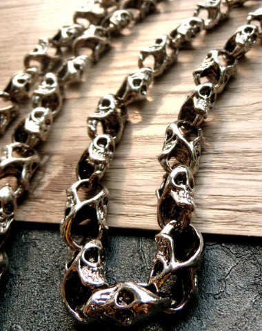 Skull biker trucker hook wallet Chain for chain wallet biker wallet trucker wallet