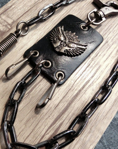 Sliver biker trucker punk key hook wallet Chain for chain wallet biker wallet trucker wallet