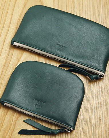 Genuine Leather billfold Long Wallet Zipper Slim Wallet Coin Change Card Wallet Purse For Women