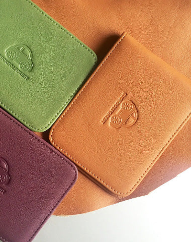 Genuine Leather Cute billfold Slim Wallet License Card Holder Wallet Purse For Women Girl