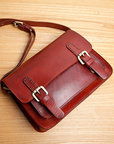 Genuine Leather Women Cute Shoulder Bag Satchel Bag Crossbody Bag Girl Leather Purse