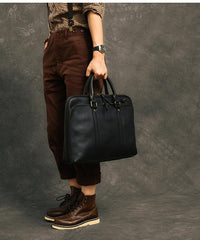 Coffee Leather Mens 15