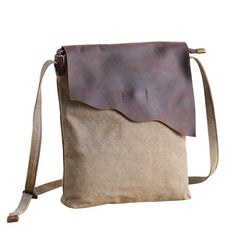 Leather Canvas Mens 12