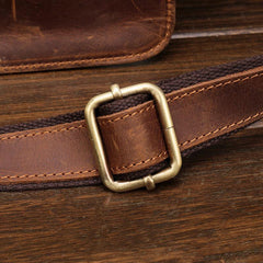 Classy Vintage LEATHER MEN'S  Cell Phone Holster Fanny Pack Waist Bag For Men