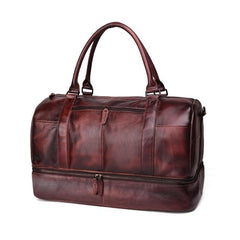 Cool Brown Leather Mens  23