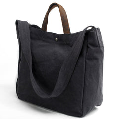 Cute Canvas Mens Womens White Handbag Tote Bag Shoulder Bag Tote Purse For Men