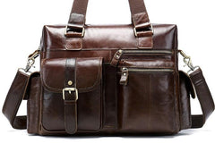 Cool Leather Men Large Overnight Bag Travel Bags Weekender Bags For Men