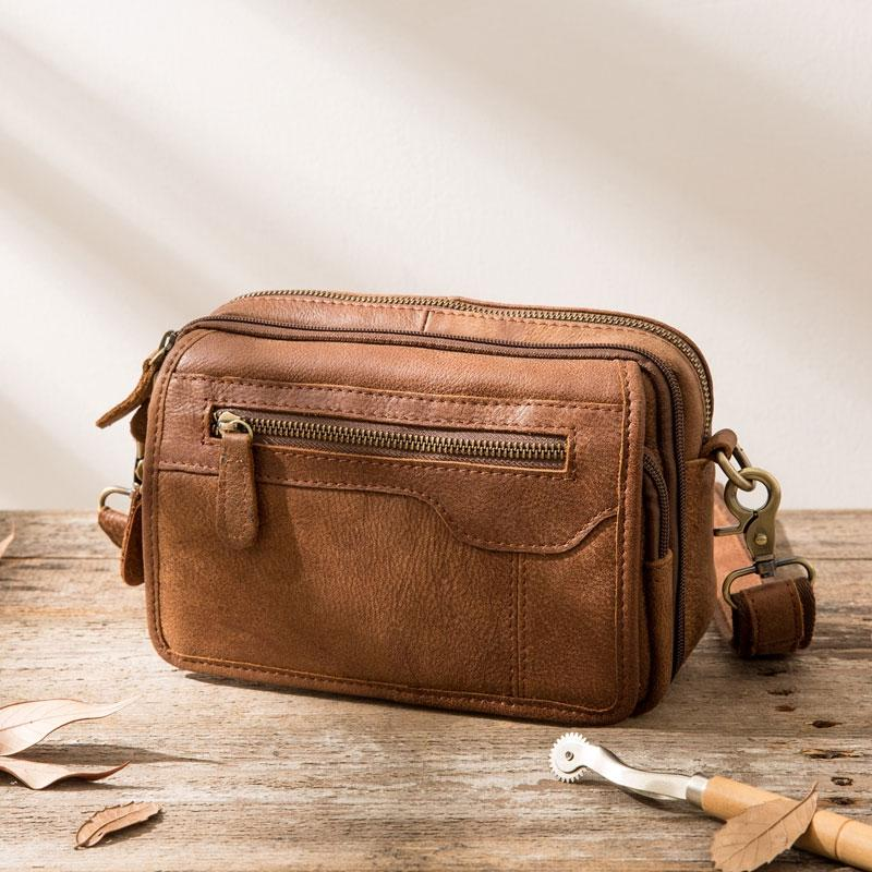 6a4352121a58 Previous. Next.  109.00 109.00. No reviews. Overview:. Design  Cool Leather  Mens Small Messenger Bags Shoulder Bag for Men