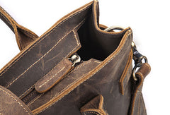Cool Men Vintage Leather Handbag Tote Shoulder bag Cross Body For Men