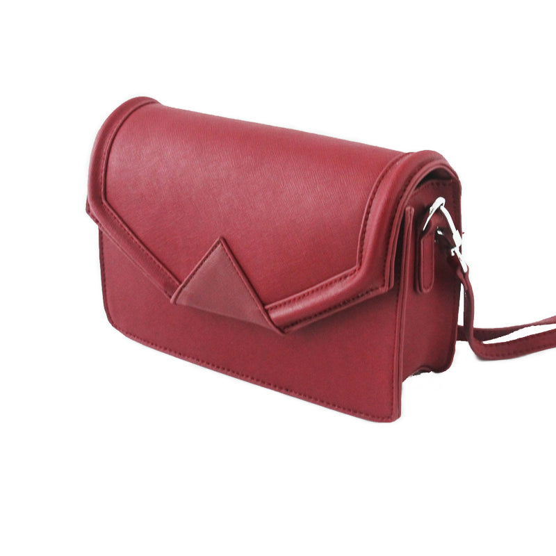 Cute LEATHER Red WOMENs SHOULDER BAG Purses FOR WOMEN