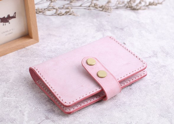 555eaef8f97 Cute Leather Womens Card Wallet Card Holder Multi Card Wallet for Women