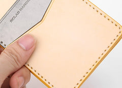 Cute Leather Womens Slim License Wallet Front Pocket Wallet Slim Card Wallet for Women