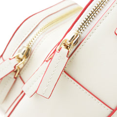 Cute Stylish White Leather Backpack Womens Mini Backpacks Purse