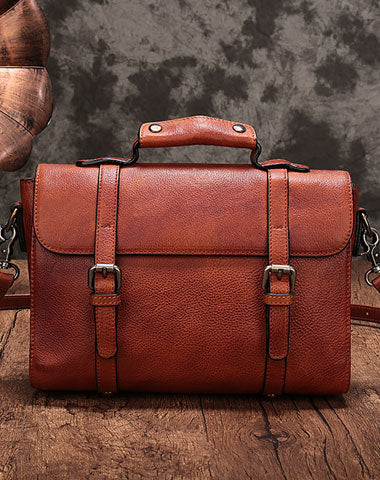 Genuine Leather Messenger Bag Mens Chest Bag Bike Bag Cycling Bag Cool iPad Bag for men