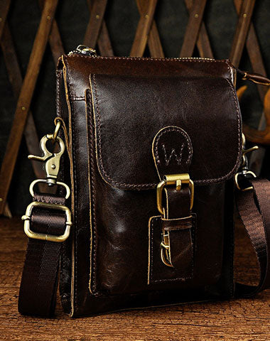 Leather Belt Pouch for men Waist Bag BELT BAG Shoulder Bag For Men