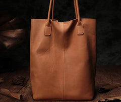 Fashion Black Leather Tote Bag Shopper Bag Brown Tote Purse For Women