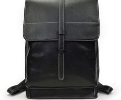 Fashion Black Mens Backpacks Vintage School Backpack Travel Backpack Bags for Men