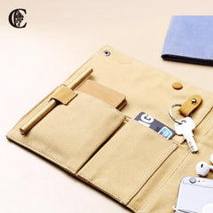 Fashion Canvas Men's Biold Digital Storage Bag Travel Clutch For Men