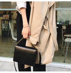 Fashion LEATHER WOMENs Cute SHOULDER Bags Purses with Tassels