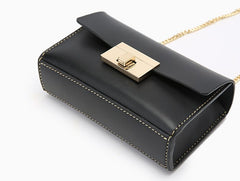 Fashion Leather Womens Cute Small Chain Shoulder Purse Chain Crossbody Bag for Women
