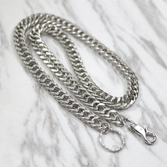 Fashion Men's Women's Silver Long Jean Pants Chain Biker Wallet Chain For Men