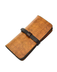 [On Sale] Handmade Vintage Mens Leather Long Wallet Cool Long Wallets for Men