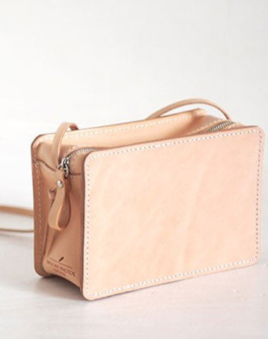Handmade Leather crossbody bag purse shoulder bag for women girl