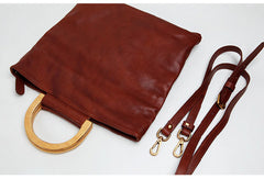 Genuine Leather Cute Handbag Clutch Shoulder Bag Women Leather Purse