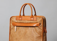 Leather Mens Briefcases Work Bag Laptop Bags Business Bag for Men