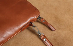 Leather Mens Clutch Cool Wallets Zipper Clutch Messenger Bag Wristlet Wallet for Men