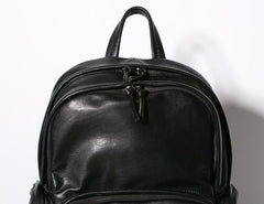 Leather Mens Cool Backpack Travel Backpack Hiking Backpack for Men