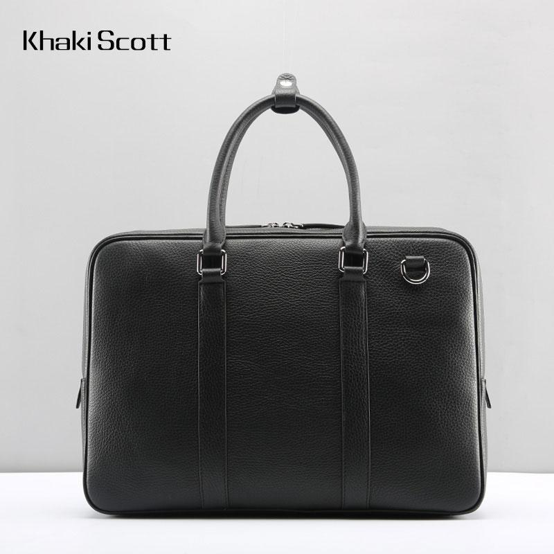 Cool Leather Mens  Briefcase Work Bags Vintage Business Bag Laptop Bags for men