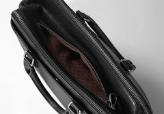 Leather Mens Cool Briefcases Work Bag Business Bag Laptop Bag for men