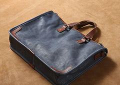 Cool Leather Mens Briefcase Shoulder Bag Work Bag Business Bag Laptop Bag for men