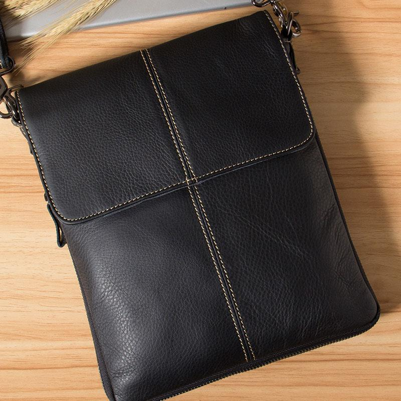 41ae405f3f4 Genuine Leather Mens Cool Small Shoulder Bag Purse Messenger Bag Crossbody  Bag for Men. SKU  YS01591001. Ask a Question or Check out FAQs of the item