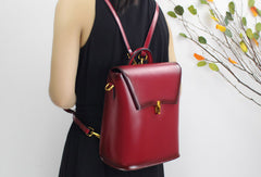 Stylish Leather backpack Purse for Women Travel Backpacks for Women