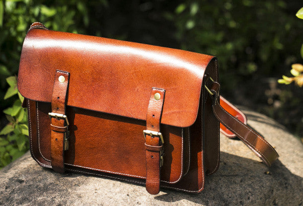 bd64075826 Handmade leather mens Messenger Bags School shoulder bags for Men. SKU   AT04271002. Ask a Question or Check out FAQs of the item