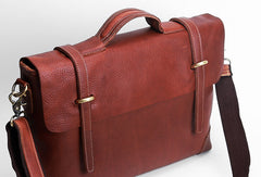 Cool leather mens Briefcase work Briefcase laptop Briefcase Shoulder bag for Men