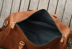 Cool Leather mens Duffle Bag Travel Bag Weekender Bag Vintage Overnight Bag shoulder bag